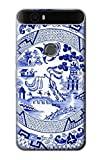 Willow Pattern Graphic Case Cover For Huawei Nexus 6P