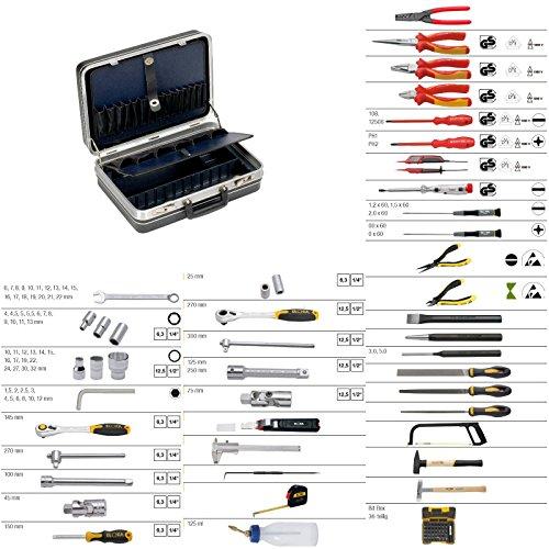 ELORA Mechatronik Starter-Set PREMIUM 131-teilig inklusive Werkzeugkoffer