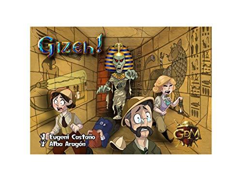 GM Games-Momia Gizeh-Juego de Cartas (GDM Games GDM2077)
