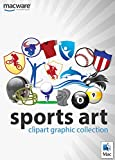 Sports Art ClipArt Graphic Collection for Mac [Download]