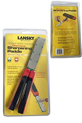 Lansky Folding Diamond Paddles, Coarse