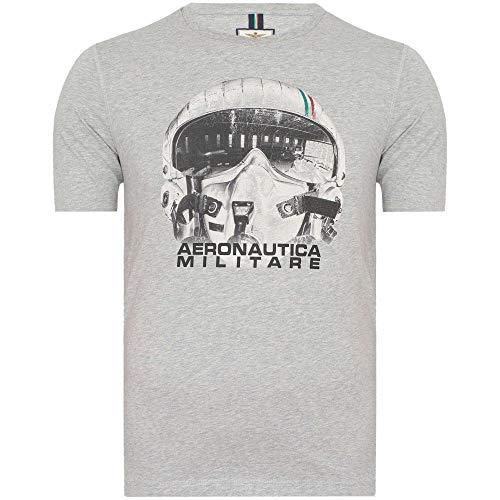 Aeronáutica Militar TS1720 - Camiseta para hombre, color gris