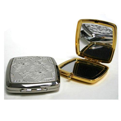 Farfalla Square Mirror Compact