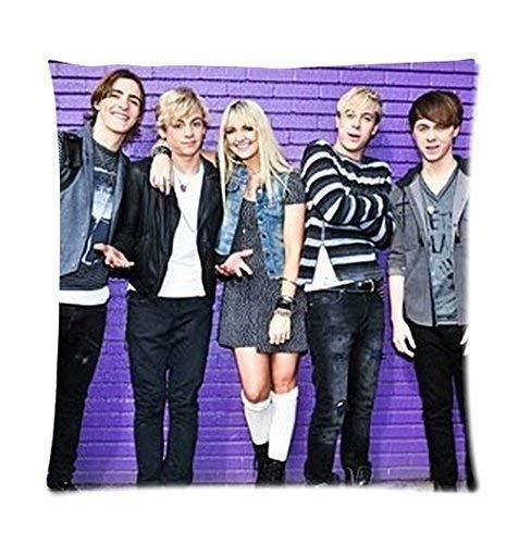 About 2015 Home Bedding Set Pillows Rock Band R5 Pillowcase Zippered Pillow Case Fundas para Almohada 22x22Inch(55cmx55cm)