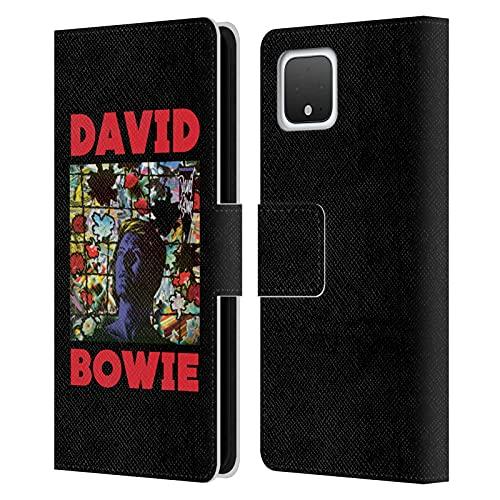 Head Case Designs sous Licence Officielle David Bowie Tonight Art D'Album Coque en Cuir à Portefeuille Compatible avec Google Pixel 4