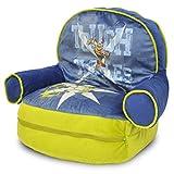Idea Nuova Teenage Mutant Ninja Turtles Kids Novelty Chair with Storage Compartment
