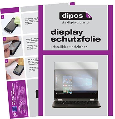 dipos I 2X Schutzfolie klar kompatibel mit Medion Akoya E2228T Folie Bildschirmschutzfolie