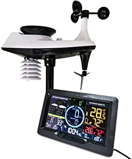 Professional Weather Station, Weather Measurements Underground, Color Display, Multi-Function Home Weather Forecaster