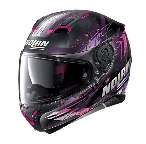 Nolan Herren N87 Helmet, Flat Black, XS