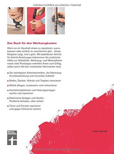 Reparaturen zu Hause: Praxistipps für die wichtigsten Arbeitstechniken – Renovierungsarbeiten – Heizungsanlagen warten und reparieren - 2