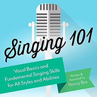 Singing 101 audiobook cover art