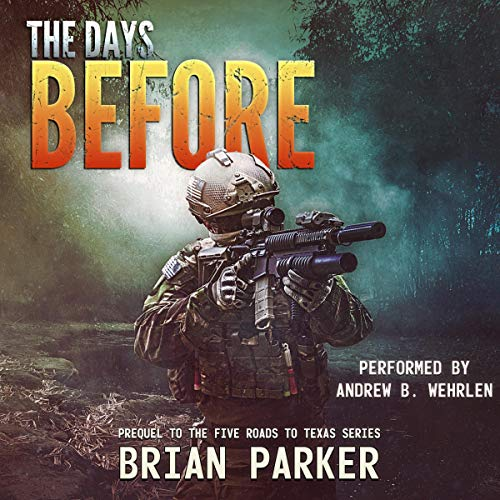 The Days Before audiobook cover art