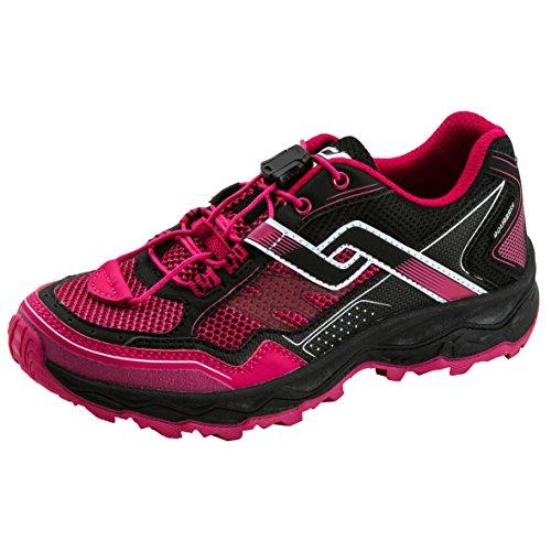PRO TOUCH Kinder-Trailrunning-Schuhe Ridgerunner V AQB JR, schwarz/pink,37