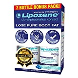 Lipozene - Weight Loss Supplement - Appetite Suppressant and Control - Two Bottles