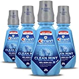 Crest ProHealth MultiProtection CPC Antigingivitis Antiplaque Mouthwash Clean Mint Pack of 4