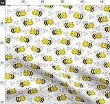 Bienen, Biene, Hummel, Wabenmuster Stoffe - Individuell