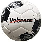 Vobasoc Fußbälle #5 Trainingsbälle,Turnierball Standart,Rautenmuster,Hochelastischer Pu...