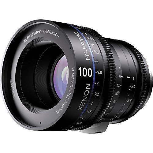 Schneider-Kreuznach 1078482 Cine Objektiv FF-Prime T2.1/100 mm, Canon/ft schwarz
