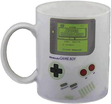 Nintendo Game Boy Thermoeffekt Tasse Super Mario 300ml Keramik weiß preisvergleich bei geschirr-verleih.eu