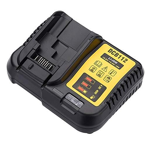 DyNamic Dcb112 100-260V Li-Ion Batterijlader Voor Dewalt 10.8V / 14.4V / 18V / 20V Li-Ion Batterij - EU-stekker