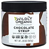 Wildly Organic Chocolate Syrup - Vegan Chocolate Syrup For Ice Cream - Dairy Free Chocolate Syrup - Vegan Chocolate Sauce - Organic Chocolate Syrup For Coffee - Agave Syrup Organic - 20 Oz.