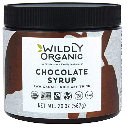 Wildly Organic Chocolate Syrup - Vegan Chocolate Syrup For Ice Cream -...