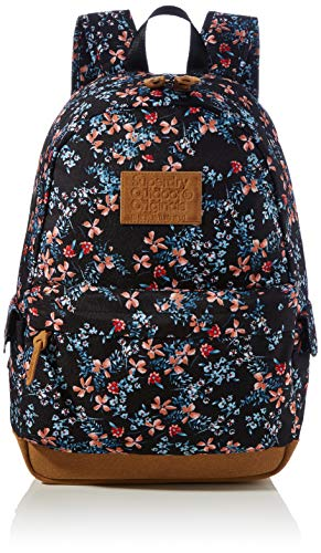Superdry Women's Print Edition Montana Backpack, Autumn Daisy