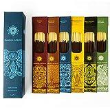 Las varillas de incienso Jembrana mezclan 6 aromas (144 varillas en total), 24...