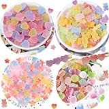 120 PCS Slime Charms Jelly Sugar Soft Candy...