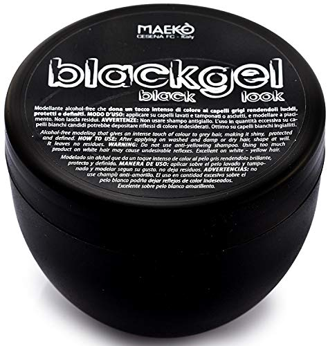 MAEKO' Blackgel black gel vaso 300ml