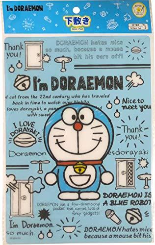 Doraemon Writing Pencil Board Shitajiki Desk pad Polypropylene sheets B5 Size Notebook Stationery