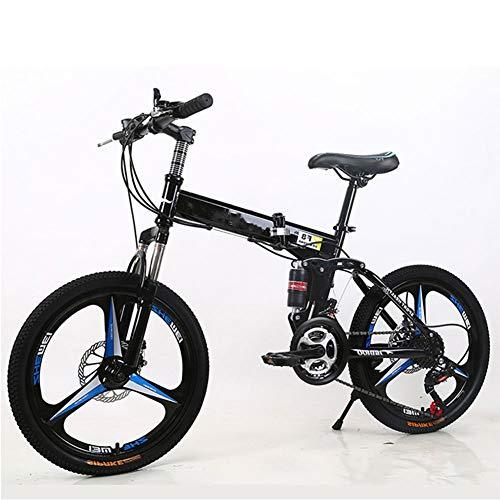 LCLLXB Bicicleta eléctrica ligera de aluminio marco bicicleta con frenos de disco para hombre/mujer híbrido bicicleta de carretera, B
