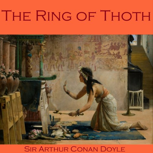 The Ring of Thoth audiobook cover art