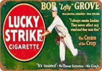 Lucky Strike Cigarette 注意看板メタル安全標識注意マー表示パネル金属板のブリキ看板情報サイントイレ公共場所駐車ペット誕生日新年クリスマスパーティーギフト