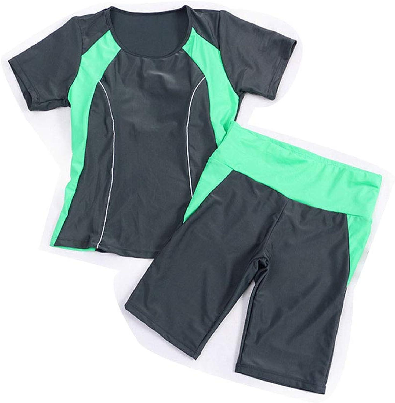 MEMIND Sommer koreanische Version Version Version Split Badeanzug Frau Studentin Badeanzug Hose schlank konservativen Badeanzug Badeanzug Zweiteilige Set Shorts B07QSJS1MW  Feinbearbeitung 656884