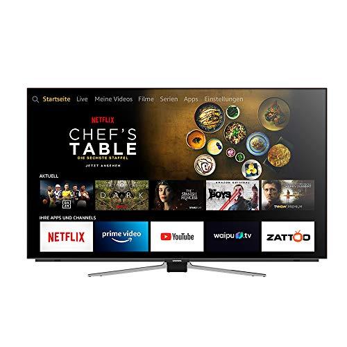 Grundig OLED - Fire TV Edition (55 VLO 8589) 139 cm (55 Zoll) OLED Fernseher (Ultra HD, Alexa Sprachsteuerung, Dolby Vision, Dolby Atmos) [Modelljahr 2019]