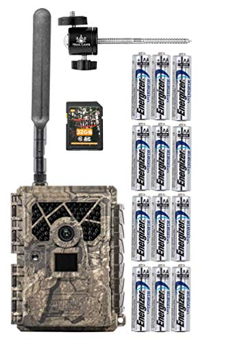 Covert Blackhawk 20 LTE Verizon Camera with SD Card, Tree Mount, and Batteries