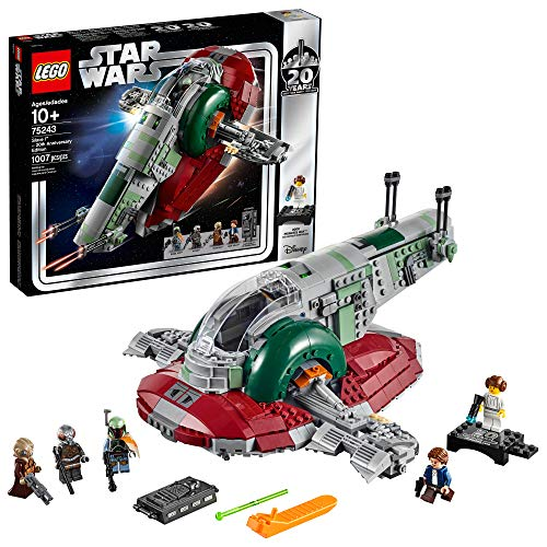 LEGO Star Wars Slave I - 20th Anniversary Edition 75243 Building Kit (1007Piece)