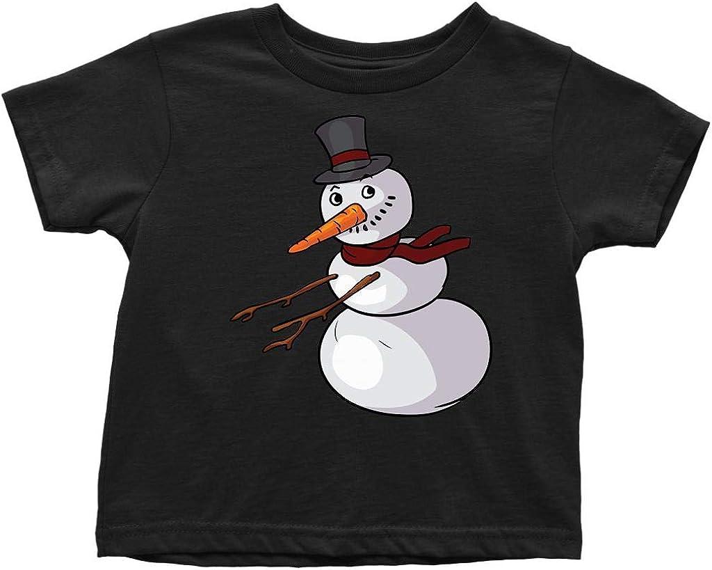 Snowman Toddler T-Shirt for Kids Boys Girls Floss Like A Boss