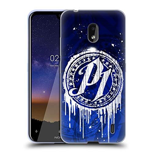Head Hülle Designs Offizielle WWE P1 Tropf Aj Styles Soft Gel Huelle kompatibel mit Nokia 2.2