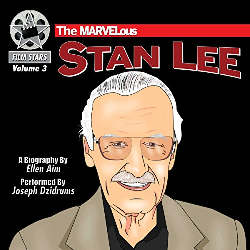 The MARVELous Stan Lee audiobook cover art