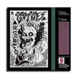 Grimes Visions Art Music Room Aesthetics Poster Wall Art for Living Room Print Artwork Wall Art Decor Poster Painting Bedroom Bathroom Decorations Canvas Prints Picture Home Office Wall Decor (12x12 inch,No Frame)