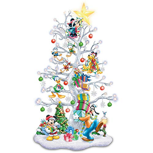 The Bradford Exchange Magic of Disney Pre-Lit Tabletop Christmas Tree