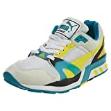 PUMA Men's Trinomic Xt 2 White/Buttercup Cobalt Blue Ankle-High Fashion Sneaker - 9M