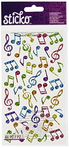 Sticko Notas de música
