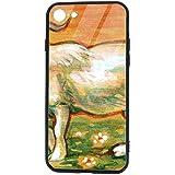 Compatible con Goat Case para iPhone 8 y iPhone 7 5.5 Pulgadas Cubierta de Parachoques de absorción de Choque Parte Posterior antiarañazos