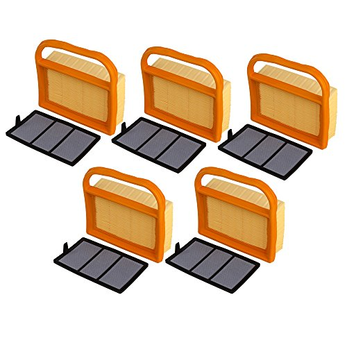 OuyFilters Replace Air Filter + Pre Filter Fit for BR320 STIHL TS410 TS420 Lawn Mower Replace 4238-140-1800 4238 140 4401 42381410300B