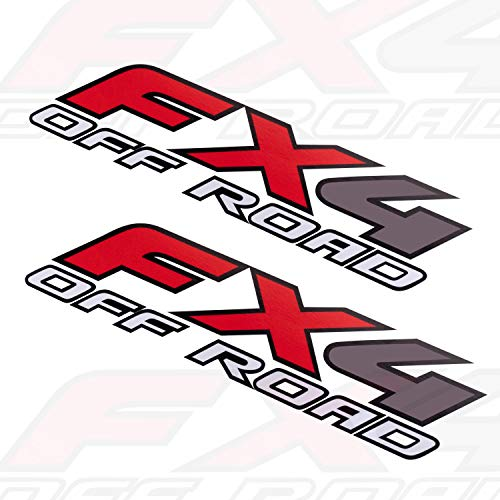 2X FX4 Off Road Decals Stickers for Ford F150 F250 F350 F Truck Bed Side...