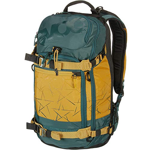 evoc Unisex_Adult FR PRO 20l, Protector Rucksack Backpack, Petrol-Loam, S