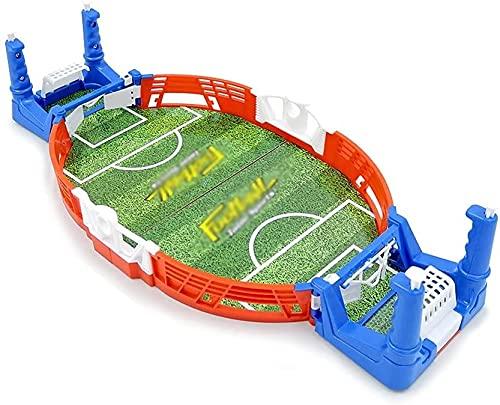 Qjkmgd Mini Table Top Football Board Juego Juego Doble Batalla Interior Fiesta de fútbol Juegos de fútbol con Pelotas Niño Tablero de Mesa Juguetes educativos